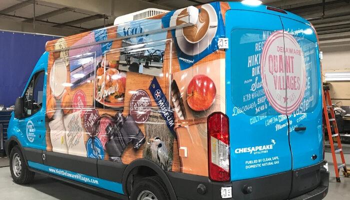 Fleet Vehicle Wraps - DPI Graphics
