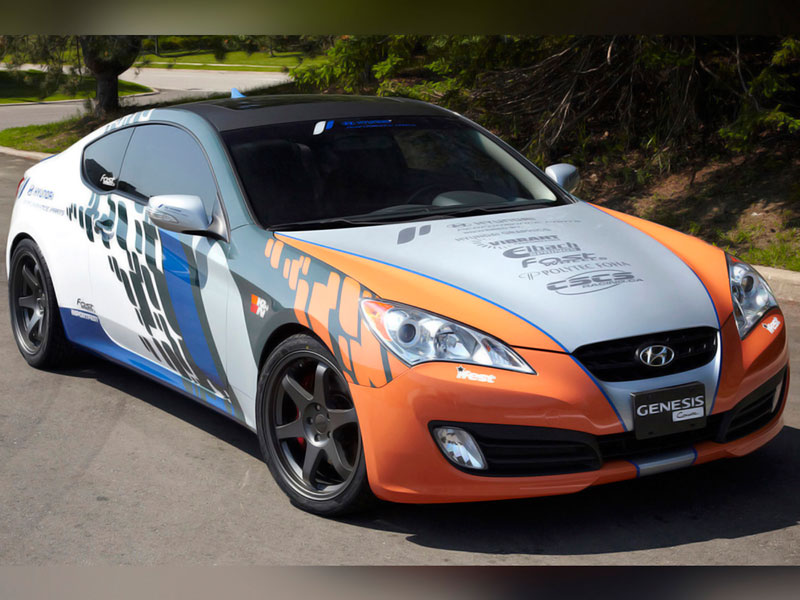 Hyundai Vehicle Wrap
