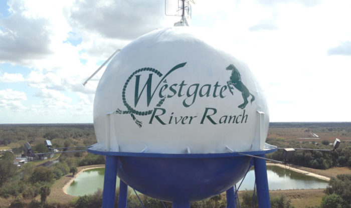 Westgate River Ranch Water Tower - DPI