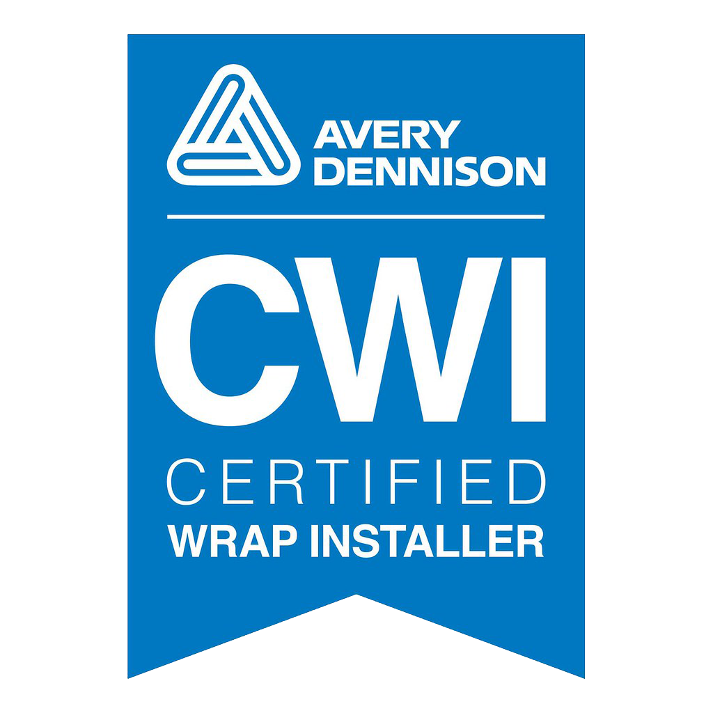 Avery Dennison CWI Certified Wrap Installer Logo